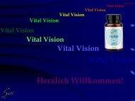 Vital Vision Die Wirkstoffe im einzelnen…