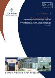 Comar 7 High-Performance Aluminium Doors - ecoSHOWCASE