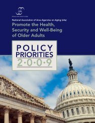 Policy Priorities 2009 - n4a