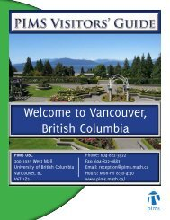 PIMS Visitor Guide