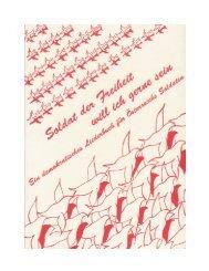 Liederbuch: Soldat der Freiheit will ich gerne sein - Vereinigung ...