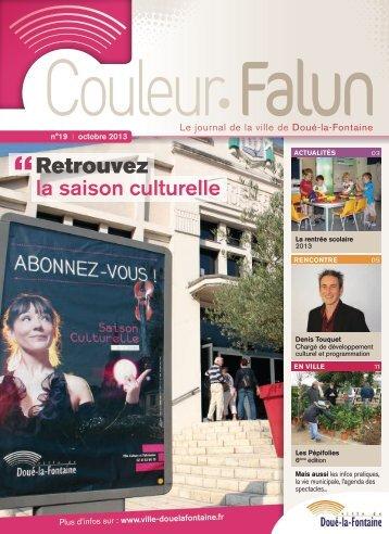 Couleur Falun 19 [pdf - 3Mo] - Doué-la-Fontaine