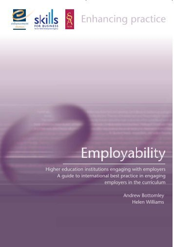 Employability Guide to International Best Practice in Engaging ...