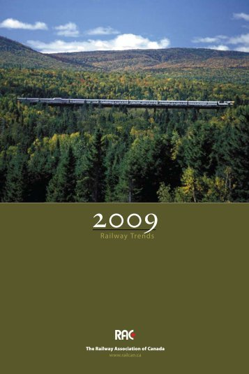 To download Rail Trends 2009, click here. (pdf 1.2MB) - Railway ...
