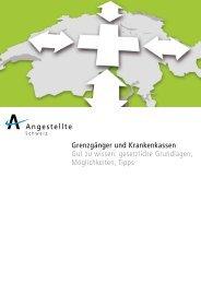 Infos für Grenzgaenger - Angestellte Schweiz