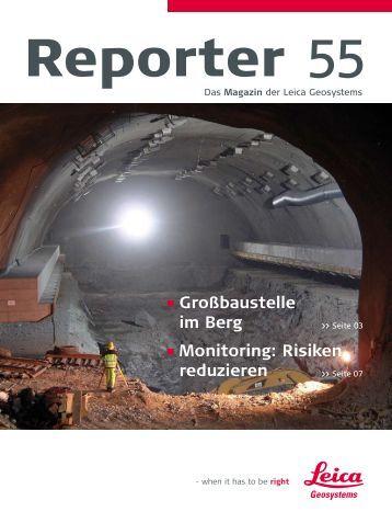 Reporter Nr. 55, Oktober 2006 Deutsch (PDF, 1,6 MB) - Leica ...