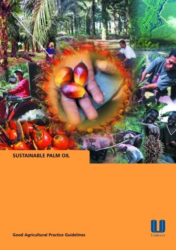 Sustainable Palm Oil - Unilever Maghreb