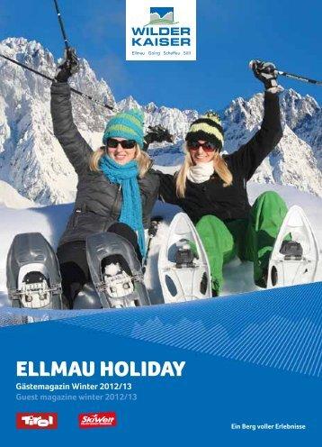 Ellmau Holiday Winter 2012/13 (PDF ca. 10 - Ellmau Info