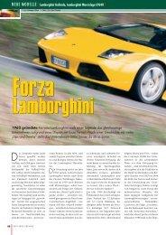 NEUE MODELLE [ Lamborghini Gallardo ... - AUTO aktuell