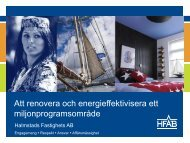 Att renovera och energieffektivisera ett ... - Svensk energi