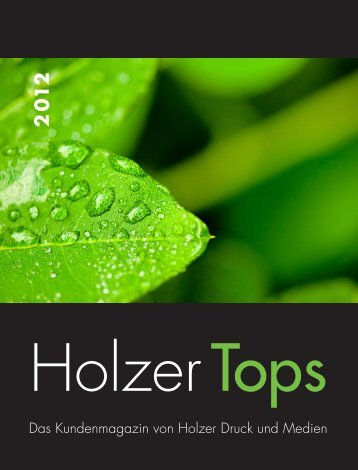HOLZER Tops 2012