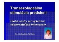 Transezofageálna stimulácia predsiení