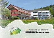 Hotelprospekt - Eichberg