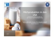 Milchproduktion in den USA
