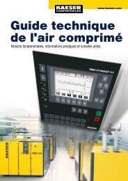 Guide technique de l'air comprimé - Kaeser Kompressoren AG