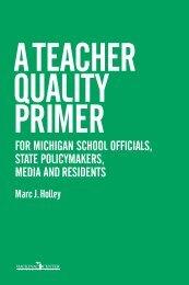 A Teacher Quality Primer - Eric - U.S. Department of Education