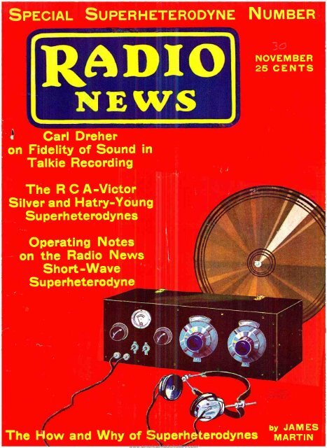 Radio News 1930 11 R