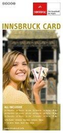 Innsbruck Card All inclusive - Mutters-bei-innsbruck.at