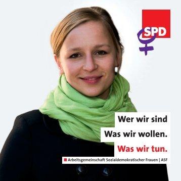 Wer wir sind Was wir wollen. Was wir tun. - SPD-Ortsverein Sehnde
