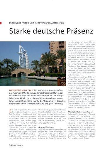 Paperworld Middle East 2013 - im bit-Verlag