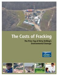 The Costs of Fracking vUS.pdf - Environment America