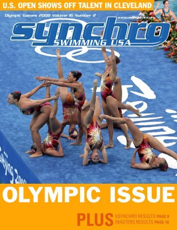 Olympic issue - USA Synchro