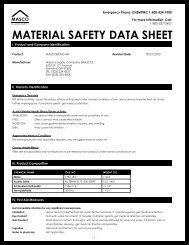 MASCOBOND AR-MSDS.pdf - masco.net