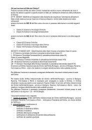 iscrizione Albo - Ordine dei Chimici di Bologna e Ravenna