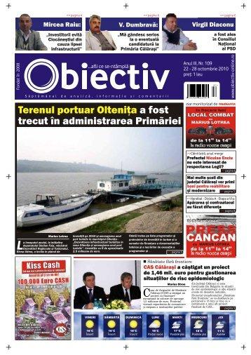 Terenul portuar Olteniţa a fost trecut în administrarea ... - Obiectiv