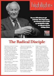 The Radical Disciple (Highlights March 2007) ( pdf )