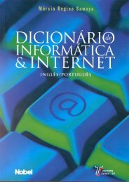 Dicionário de Informática & Internet - Área Computadores