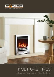 Gazco Inset Gas Fires - Brochures - Stovax