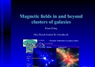 Magnetic fields in and beyond clusters of galaxies