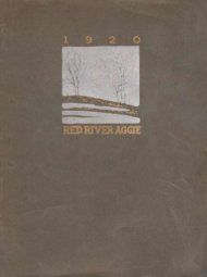 Aggie 1920 - Yearbook