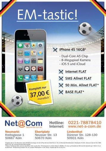 Vodafone Flat - T-Mobile Flat - Net