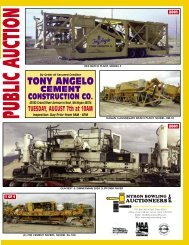 tony angelo cement construction co. - Myron Bowling Auctioneers
