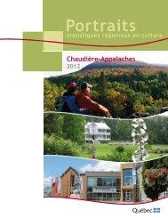 Portrait Chaudière-Appalaches - Ministère de la Culture et des ...