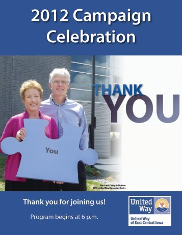 2012 Campaign Celebration - United Way of East Central Iowa