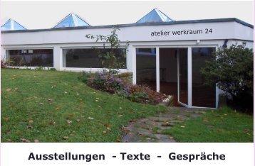 Ausstellungen - Texte - Gespräche - Peter E. Rytz