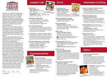 Programm Oktober 2011 - Evangelische Kirchengemeinde Lindlar