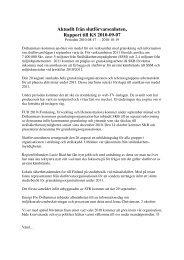 Aktuellt från slutförvarsenheten, Rapport till KS 2010-09-07