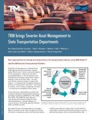 State Transportation Solution - Total Resource Management