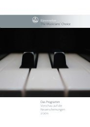 Bärenreiter The Musiciansl Choice