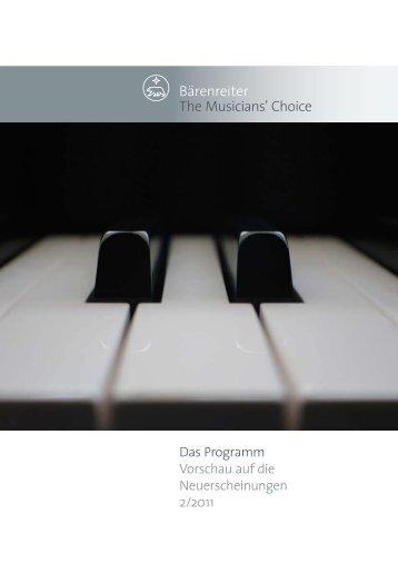 Bärenreiter The Musiciansl Choice
