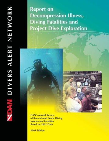 DAN 2004 Report on DCI, Diving Fatalities, and PDE - Divers Alert ...