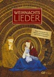 Neue Chorbücher für Advent und Weihnachten zum ... - Carus-Verlag
