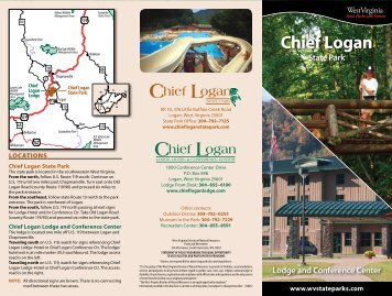 Chief Logan State Park Brochure - West Virginia Department of ...