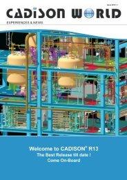 CADISON ® WORLD Issue-01-2013