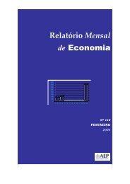 Relatório Mensal de Economia - AEP