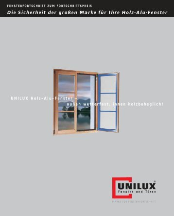 UNILUX Holz-Alu-Fenster - Schaefer-bauelemente.de